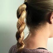 The Rope Braid Ponytail